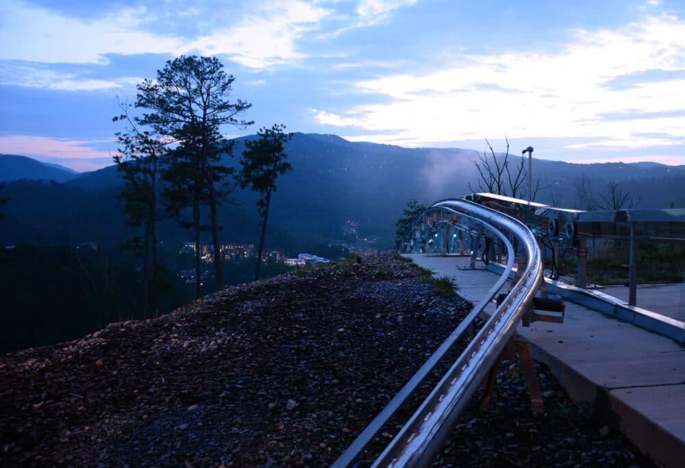 Rail Runner at Night