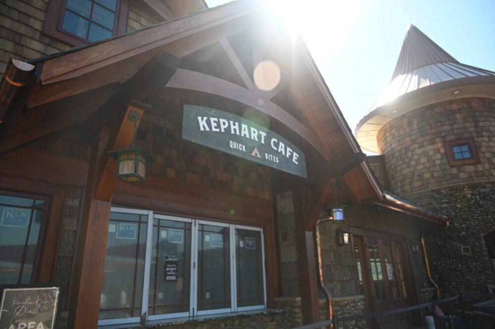 Kephart Cafe at Anakeesta