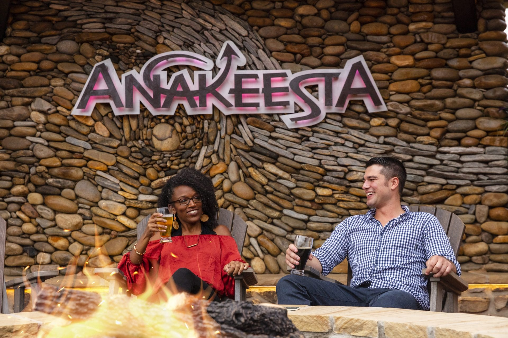 Lifestyle images with talent at Anakeesta